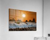 Sunset at Rialto Beach  Acrylic Print