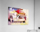 The Moving Van Moves No More  Acrylic Print