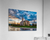 Star Valley Wyoming Temple - The Church of Jesus Christ of Latter-day Saints  Acrylic Print