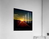 Glinting horizon  Acrylic Print