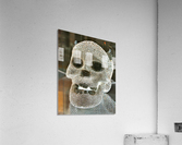 Paris Crystal Skull  Acrylic Print