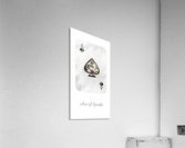 playing cards ace of spades  Acrylic Print