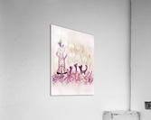 Dame et chats  Acrylic Print