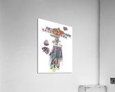 Herero Woman 7  Impression acrylique