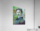 Electric Tesla  Acrylic Print