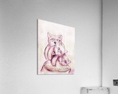 Chats sur coussin  Acrylic Print