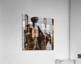 Shadow horserider 2  Impression acrylique