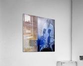 blue horserider 3  Impression acrylique