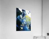 femme à la pipe  Acrylic Print