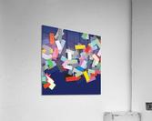CHIC blue 2   Acrylic Print