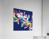 CHIC blue 3   Acrylic Print