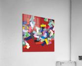 CHIC red 2   Acrylic Print