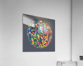 RONDO medium gray  Acrylic Print
