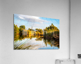Serene River  Acrylic Print