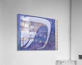 whiteswan and man  Acrylic Print