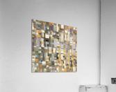 STAGE chrome yellow  Acrylic Print