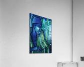 forgé de bleu  Acrylic Print