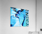 vélo bleu  Acrylic Print