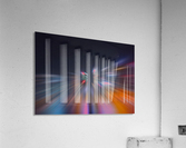 Radial_orangeblue  Acrylic Print