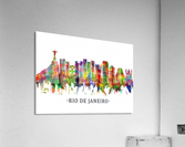Rio de Janeiro Brazil Skyline  Acrylic Print