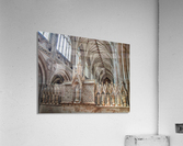 Litchfield Cathedral 3  Acrylic Print
