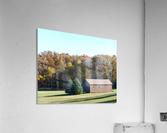 Pole Barn in Fall  Acrylic Print