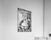 Agnes Durer in Dutch Tracht  Acrylic Print