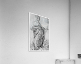 Drawing from the tarot-prudence  Acrylic Print