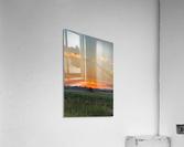 Sunset Hut  Acrylic Print