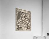 Coat of Arms of Johann Tscherte  Acrylic Print