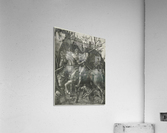 German knight  Acrylic Print