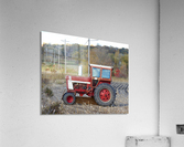 Tractor and Telephone Poles  Acrylic Print