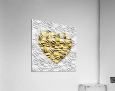 HEART OF GOLD  Acrylic Print