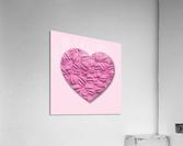 HEART OF PINK  Acrylic Print