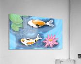 Cartoon Koi fish  Acrylic Print