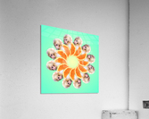 Orange you glad i didnt say Monkey 1080  Acrylic Print