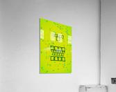 Oral care  Acrylic Print