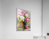 Bouquet of delicate roses  Acrylic Print