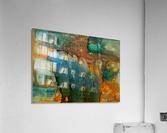 Elephant and Warrior  Acrylic Print