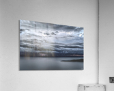 Lightning Over Lake Titicaca  Acrylic Print