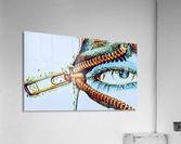 zipper eye  Acrylic Print