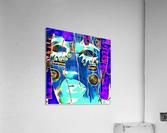 neon babe  Acrylic Print