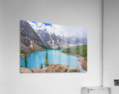 Moraine Lake in Banff National Park BC  Acrylic Print