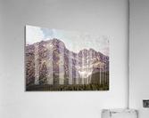 Cascade Mountain in Banff National Park BC  Acrylic Print