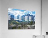 Two Medicine at Glacier National Park  Acrylic Print