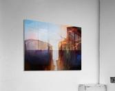 Sharp Cliffs  Acrylic Print