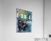galactic fullmoon  Acrylic Print