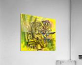 SACRIFICE FOR LOVE  Acrylic Print
