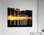 LA On fire  Acrylic Print