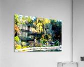 Reflections of a Monet Garden  Acrylic Print